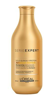 SHAMPOING RECONSTRUCTEUR - ABSOLUT REPAIR GOLD - l'oreal