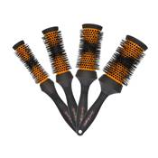 4 brosses Head Huggers orange DENMAN ( ø : 25 – 33 – 43 – 53 mm) avec trousse offerte
